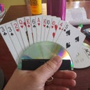 Playing Card Holder for Kids and people who have a hard time holding cards.