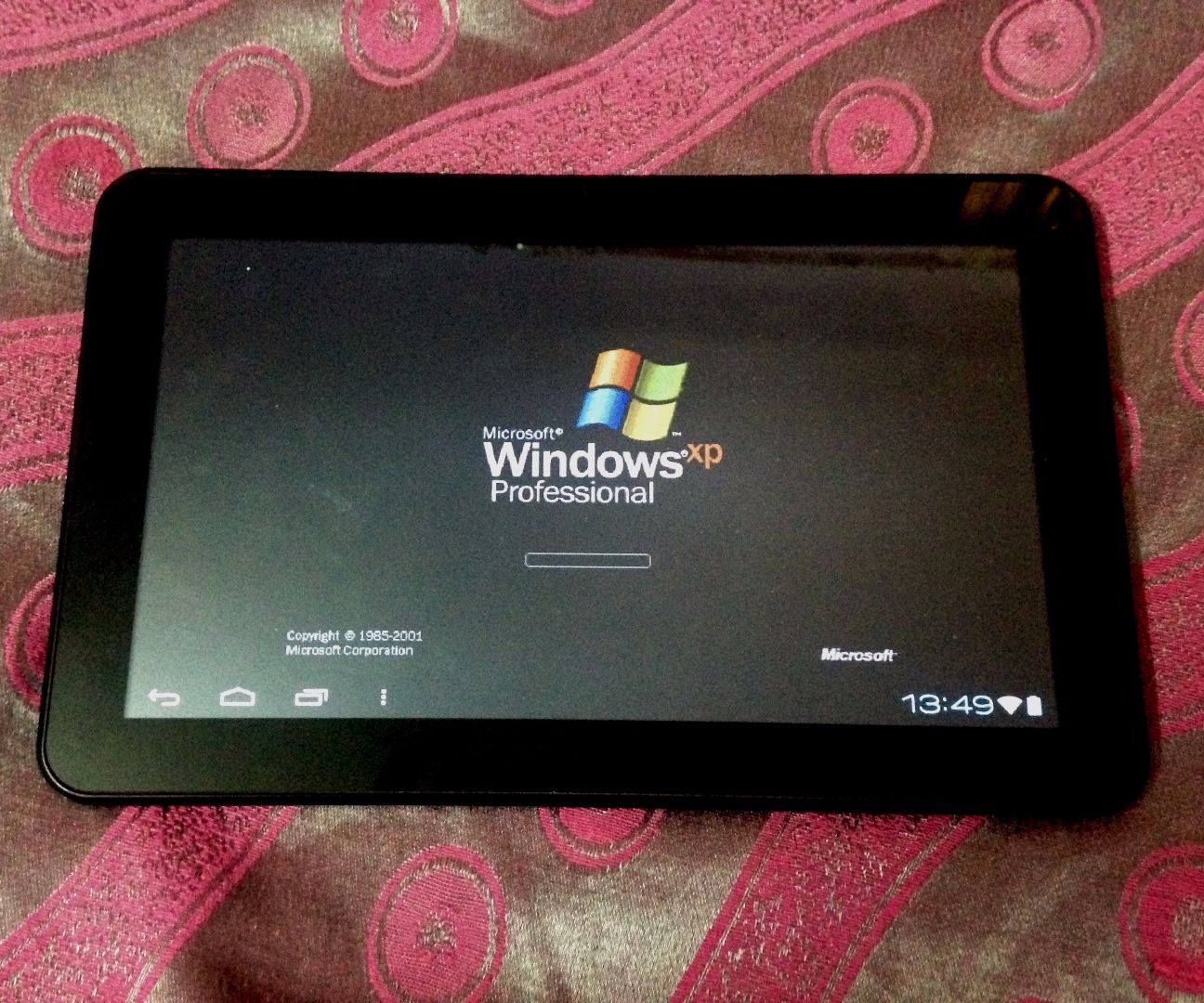Run Windows XP on Android Device