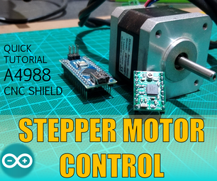 Large Stepper Motor Control A4988