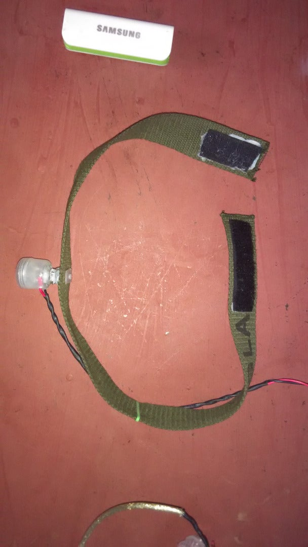 The Items We Will Need to Build Our Rechargeable LED Head Torch