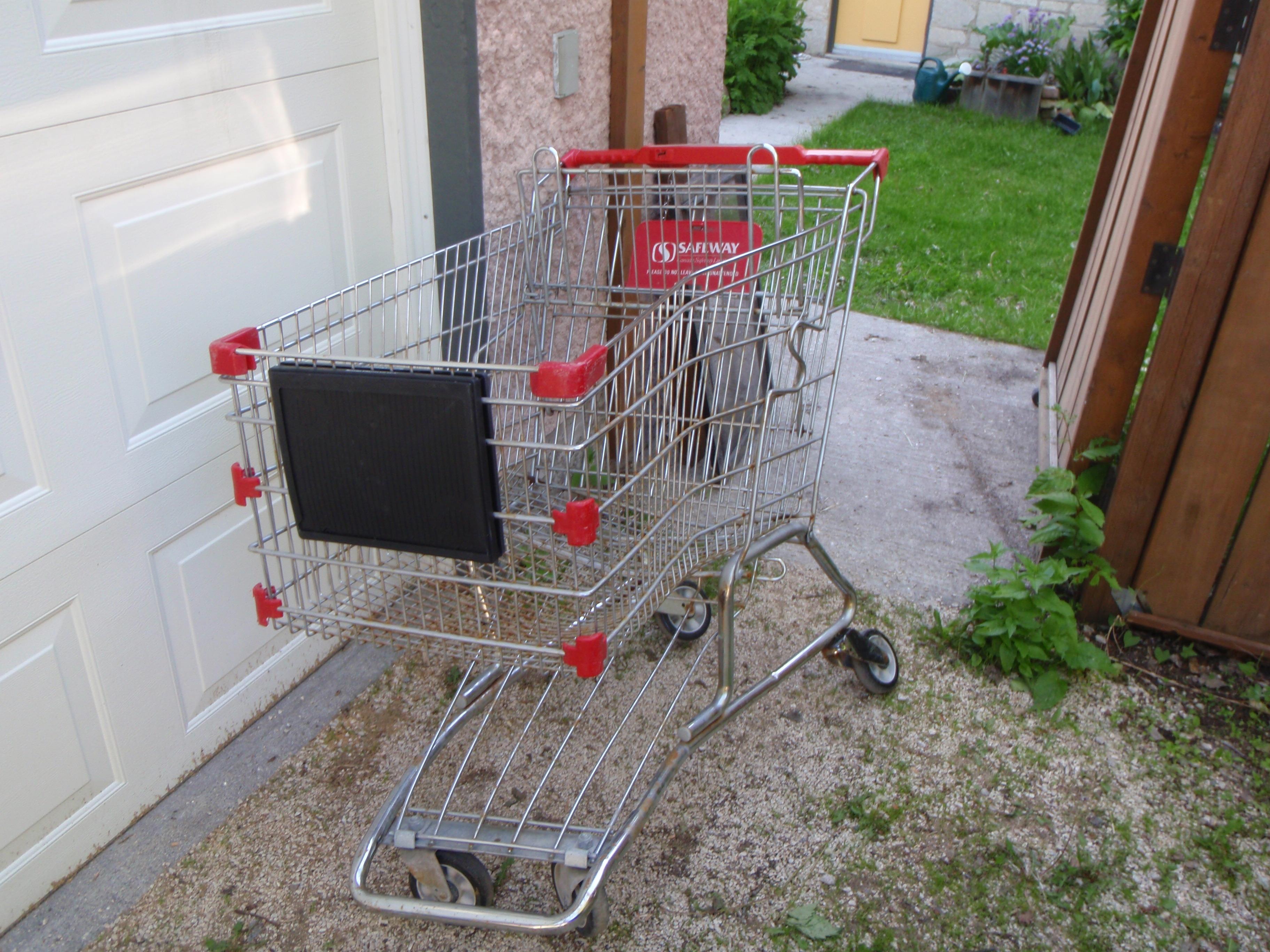 Shopping Cart Bike Trailer