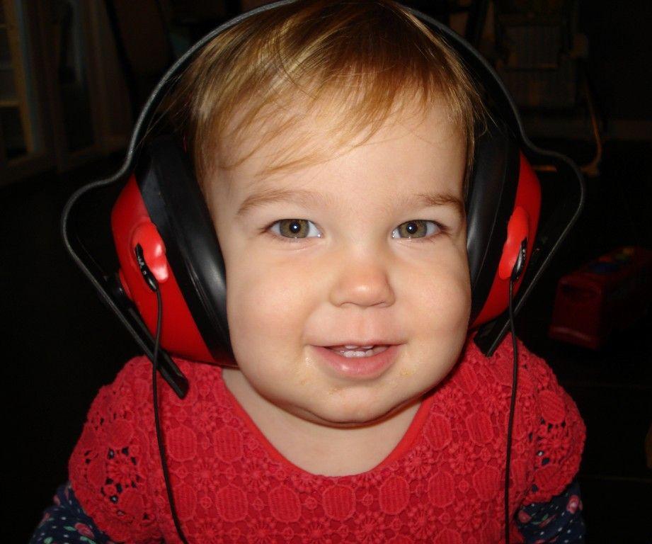 MP3 Ear Defenders with Sugru