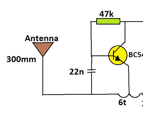 simplest audio transmitter (spybug)