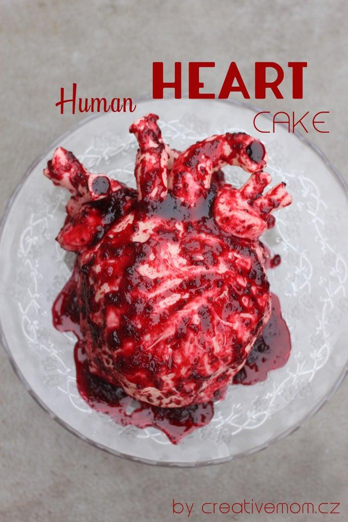 Sweet Valentine - Human Heart Cake