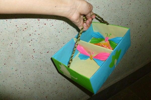 Recycled Tissu Box