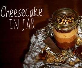 Cheesecake in Jar (Triple Chocolate Cheesecake)