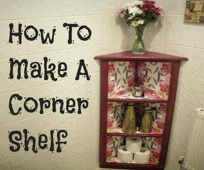 How To Make A Corner Shelf