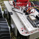 ESP8266 Wifi Controlled Robot