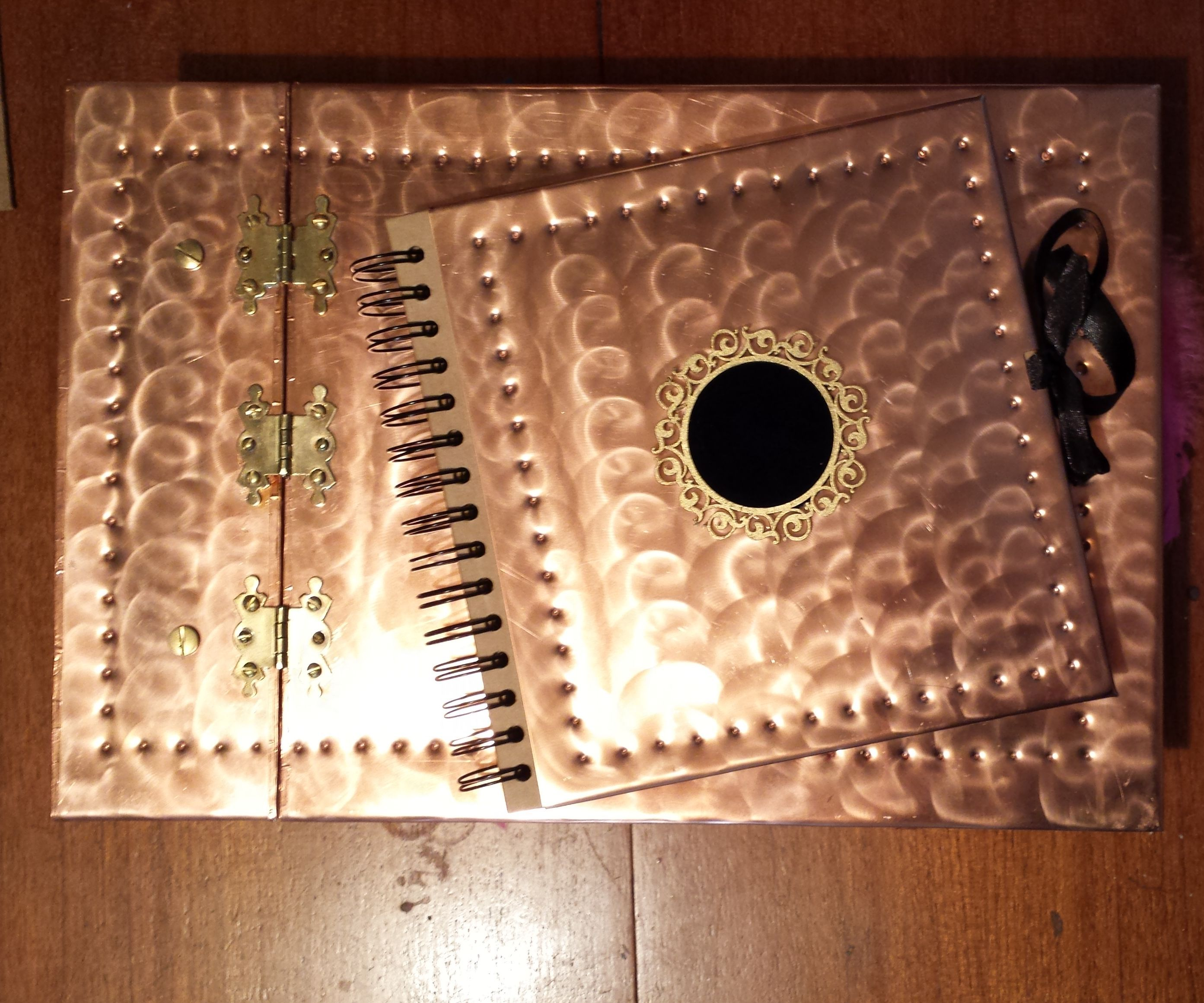 Copper Guest Book & photo album