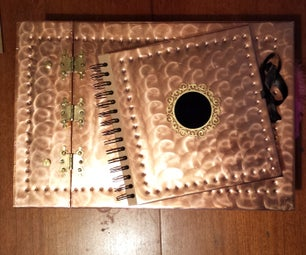 Copper Guest Book & Photo Album