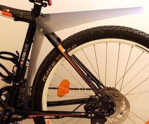 D.I.Y Rear Bicycle Fenders