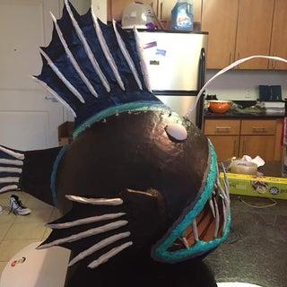 Lady Anglerfish Mask/Helmet