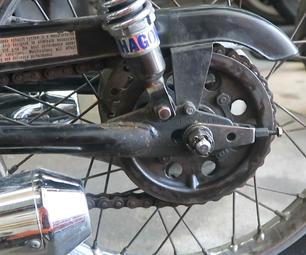 Chain Tension Adjustment on Vintage Honda Motorcycles
