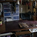 Some ideas for your tiny, temporary, hobo-rigged work bench