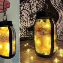Mason Jar Halloween Lantern