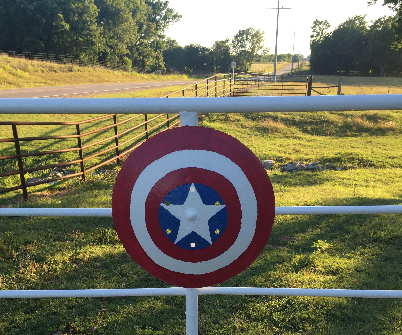 Fans of Captain America!