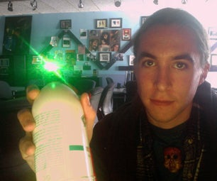Light Graffiti Cans From Shampoo Bottles