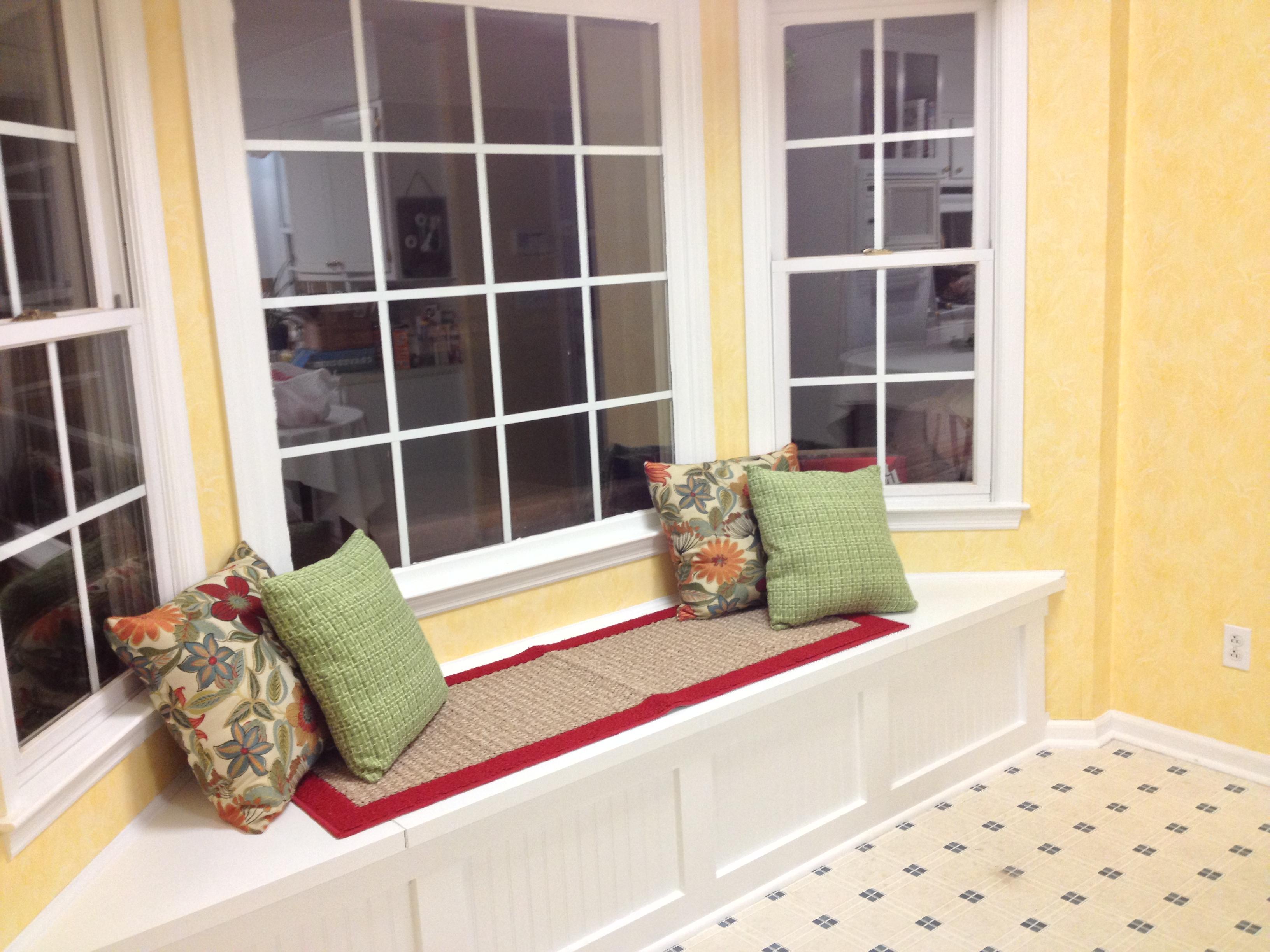 Build a Window Seat with Storage