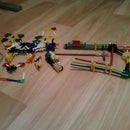 k'nex M8AE (assault and elite) gun