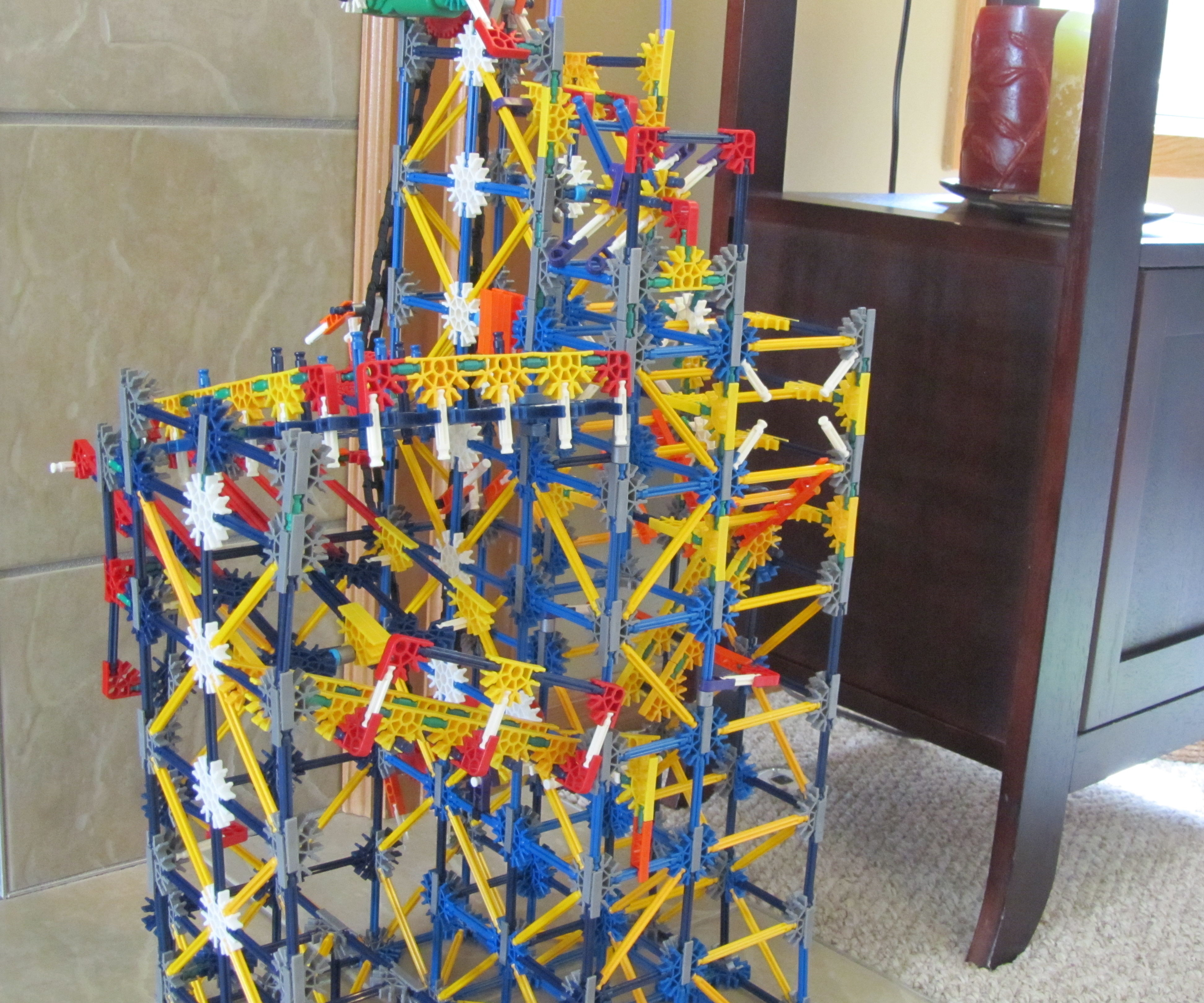 K'nex Ball Machine Maze Mania w/ Instructions