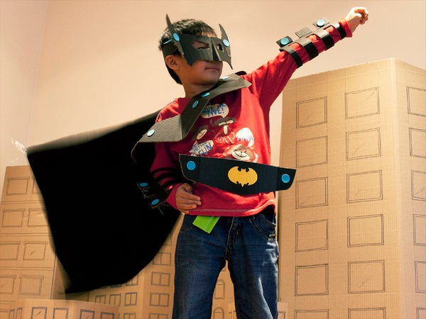Makedo Batman Costume
