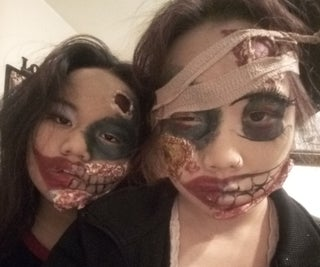 Basic Zombie Makeup