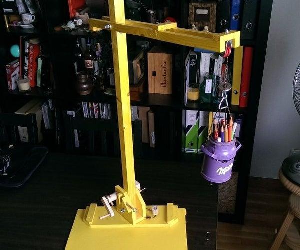 DIY Cunstruction Crane Toy