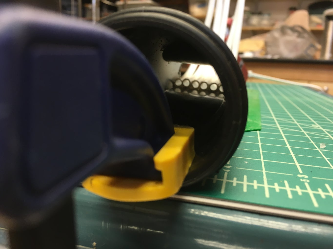 Glue the Tubing in Place