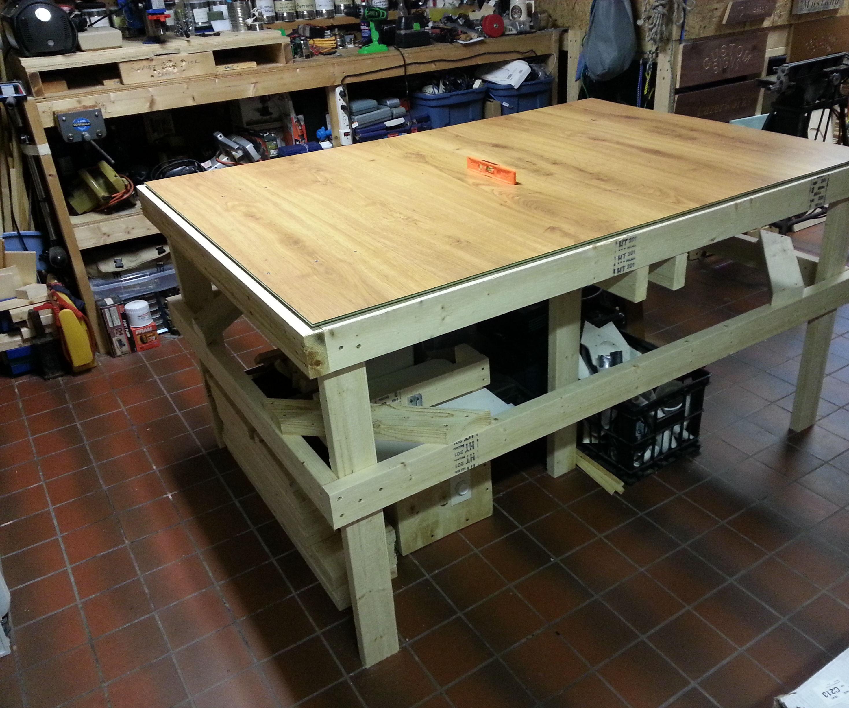 Laminate Flooring Workbench
