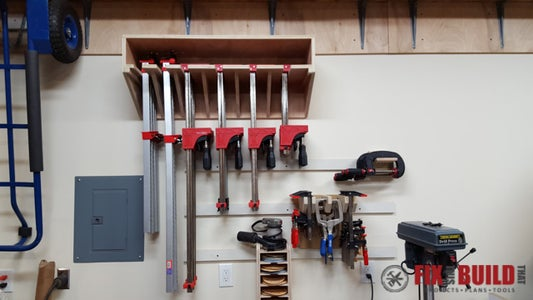 Mount the Clamp Rack and Add Clamps
