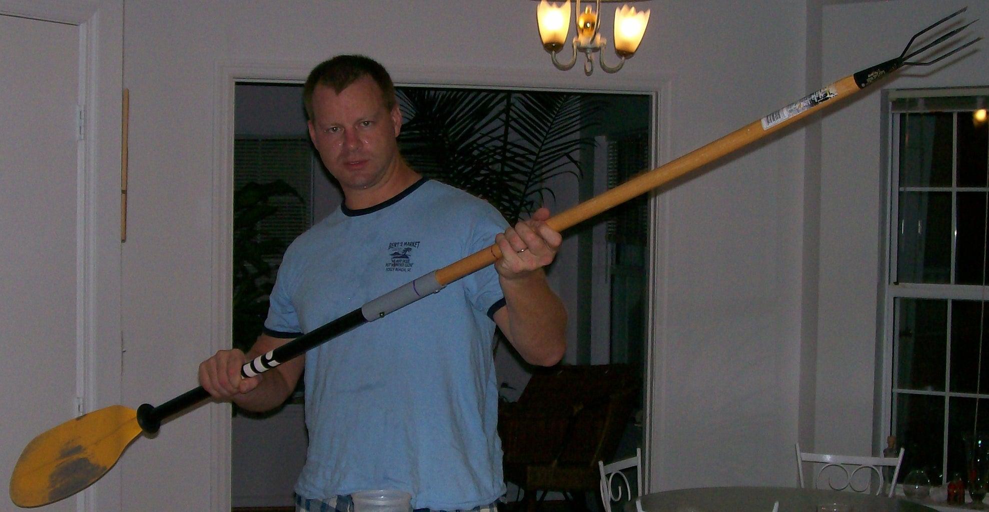 Attaching Spear Head