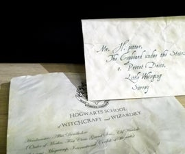 Your Own Hogwarts Acceptance Letter