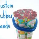 Custom 3D Printed Rubber Bands