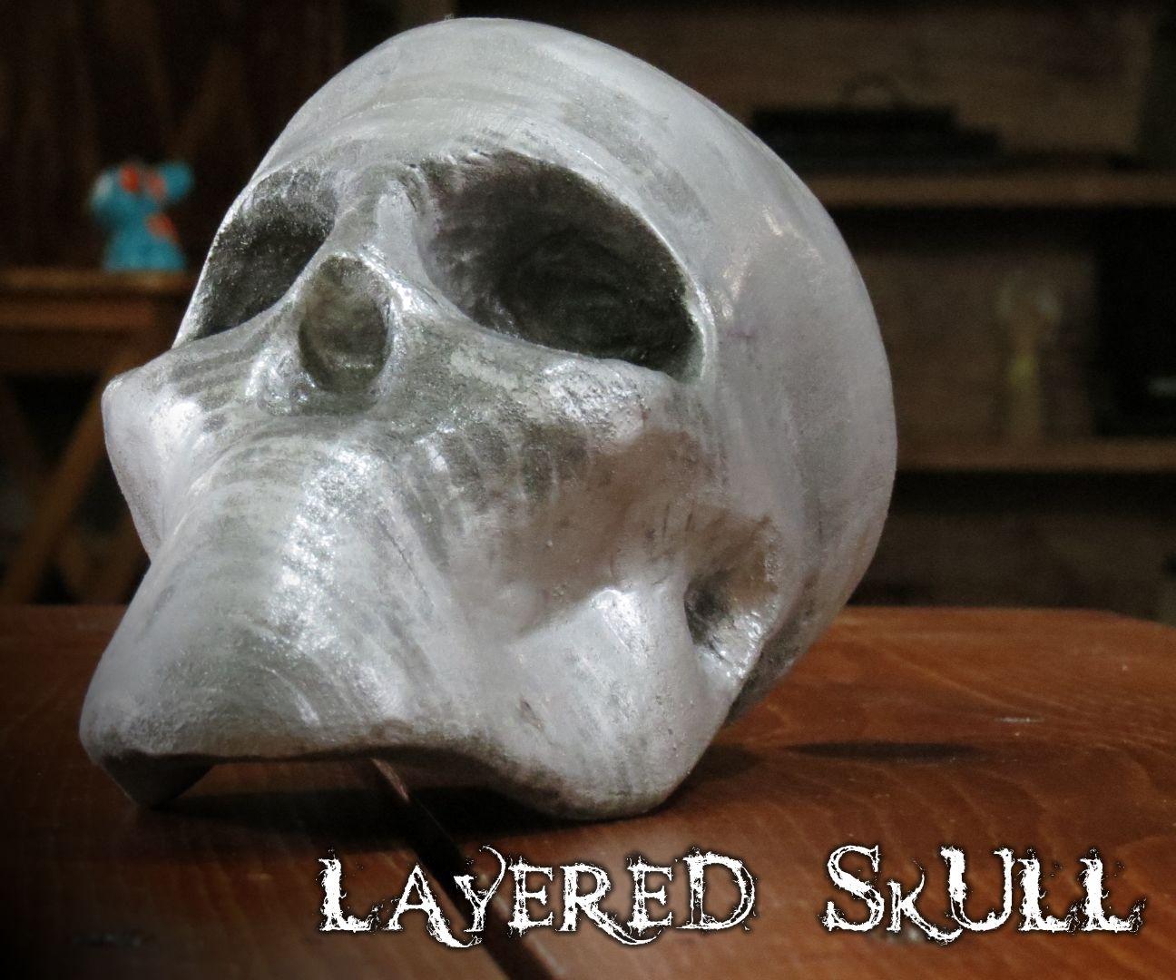 Making an MDF Layered Skull Using 123D Make