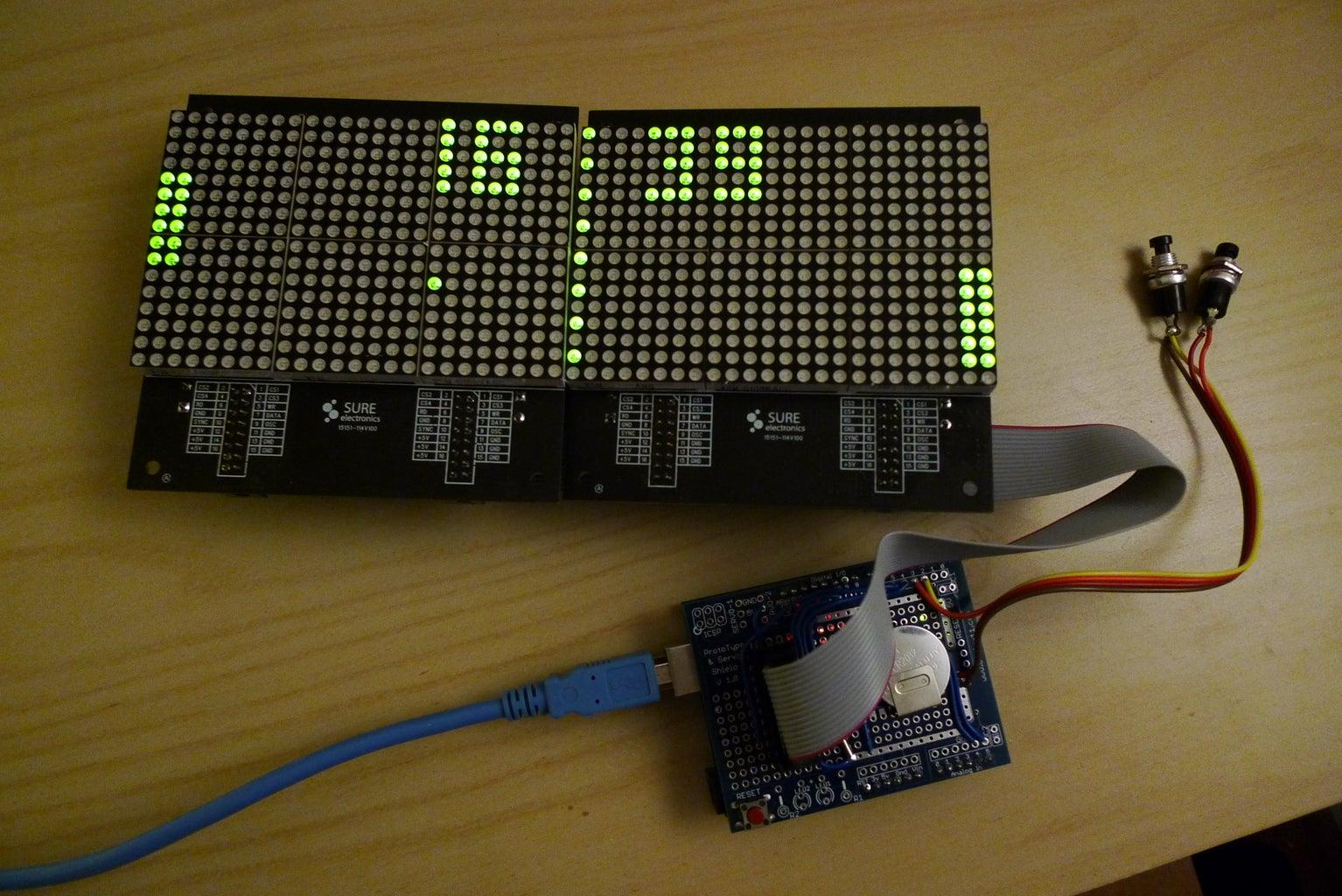 Uploading the Clock Code