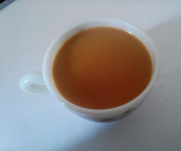 Indian TEA With Milk.