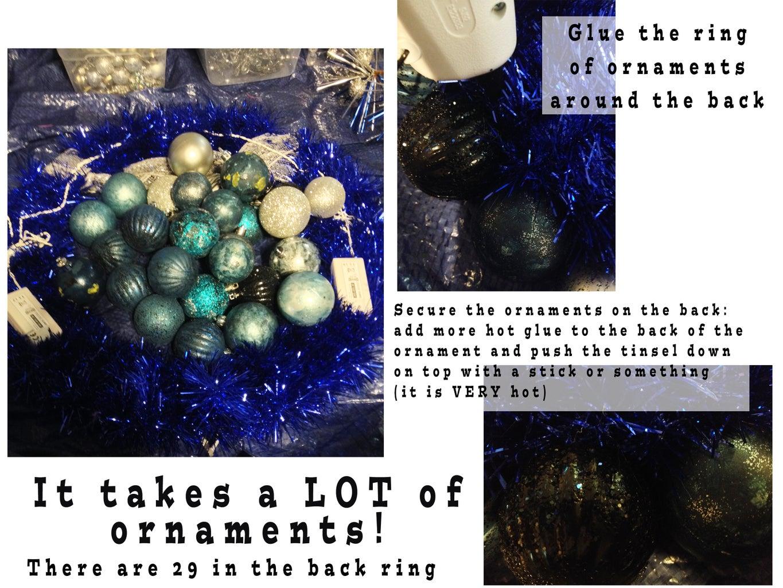 Layout: Add Ornaments Around Wreath