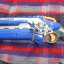 Detachable Nerf Roughcut ammo holder