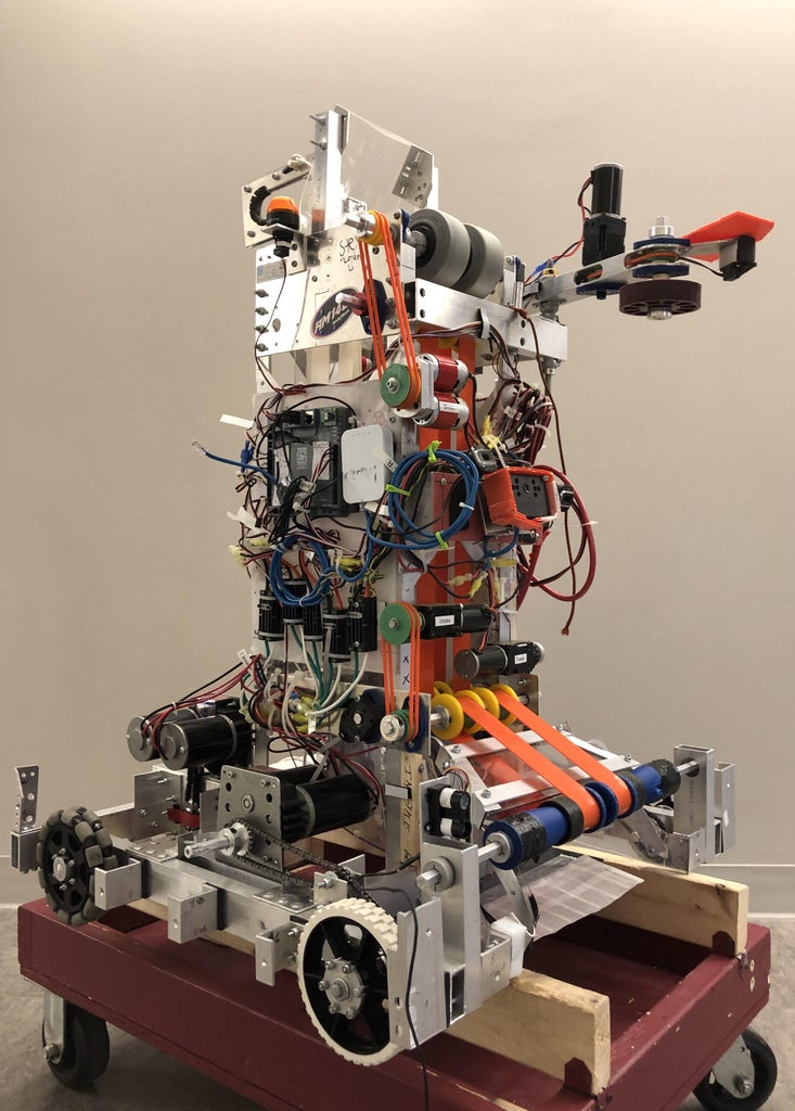 Patriots 3205 - 2020 Final Robot