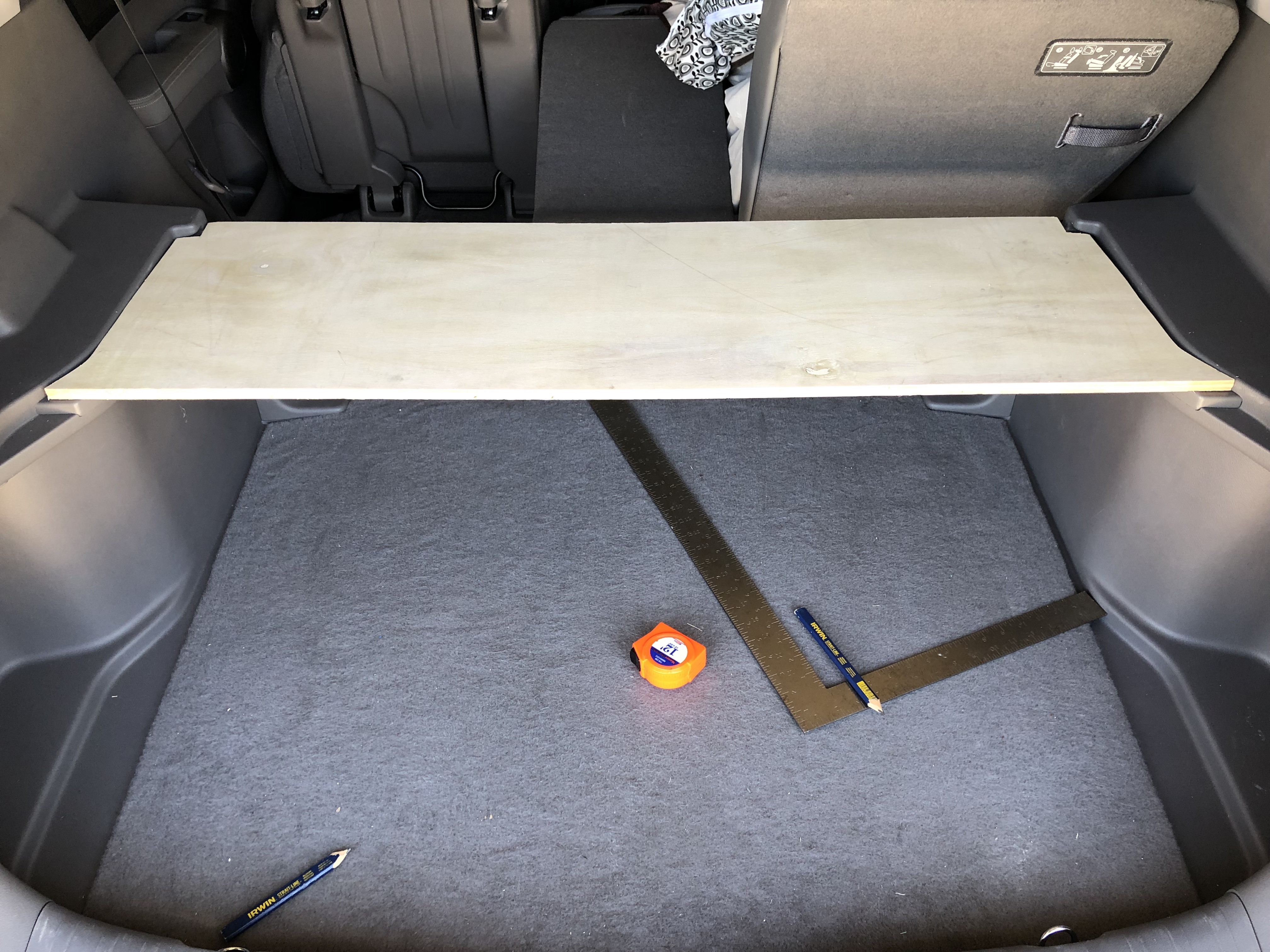 Suv Trunk Shelf 7 Steps With Pictures Instructables