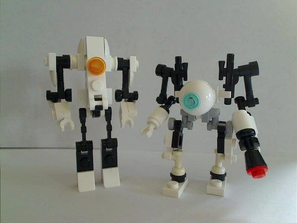 Lego Atlas and P-Body