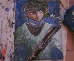 Link Oil Painting