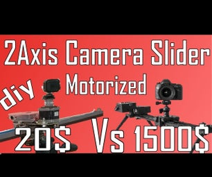 2 Axis Motorized Camera Silder for 20$
