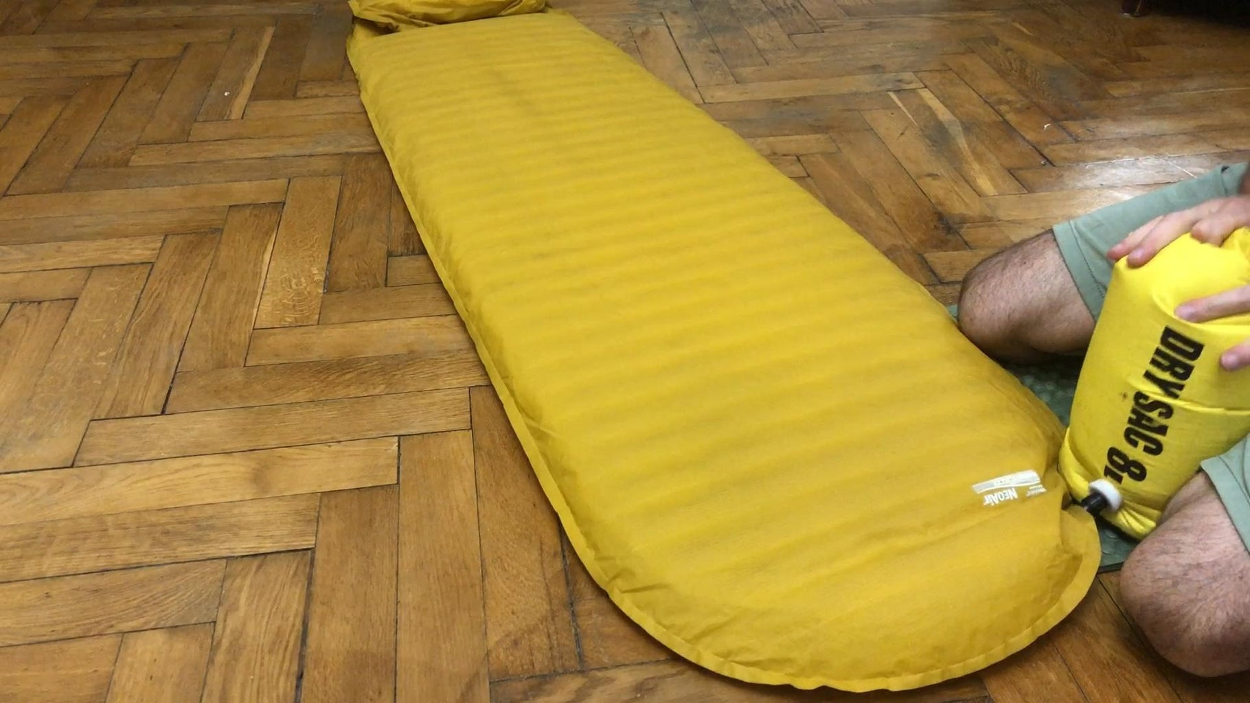 Inflating Your Pad
