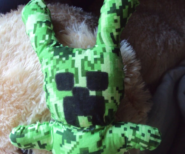 Creeper Bunny Plush