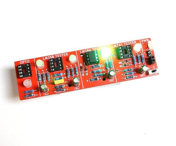 OP Amp IC Tester