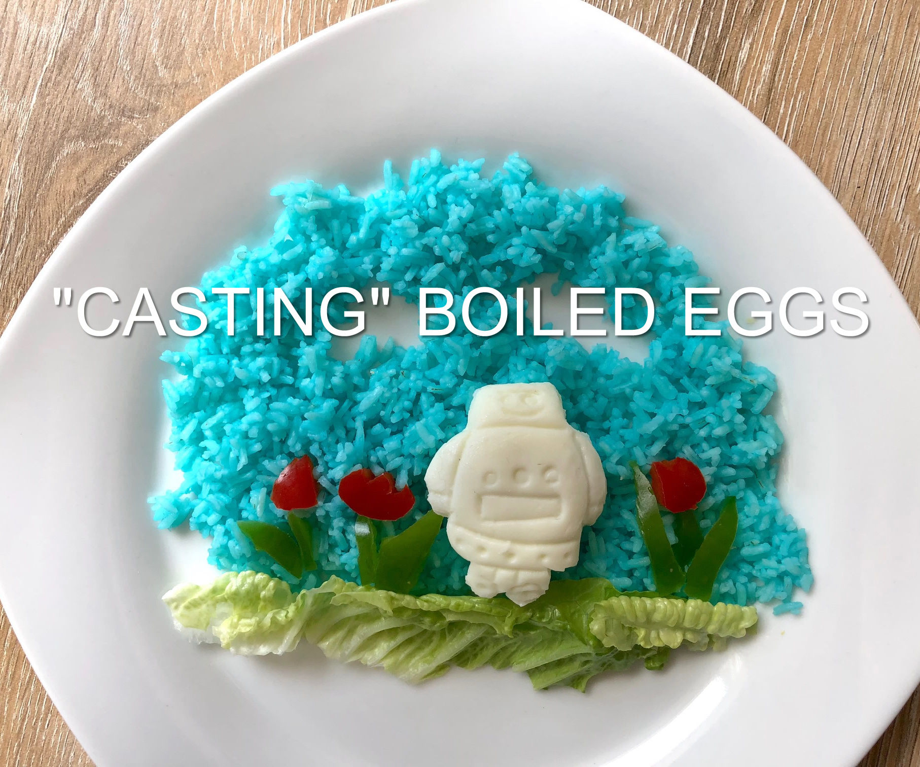 Make a Mold to Cast Boiled Eggs