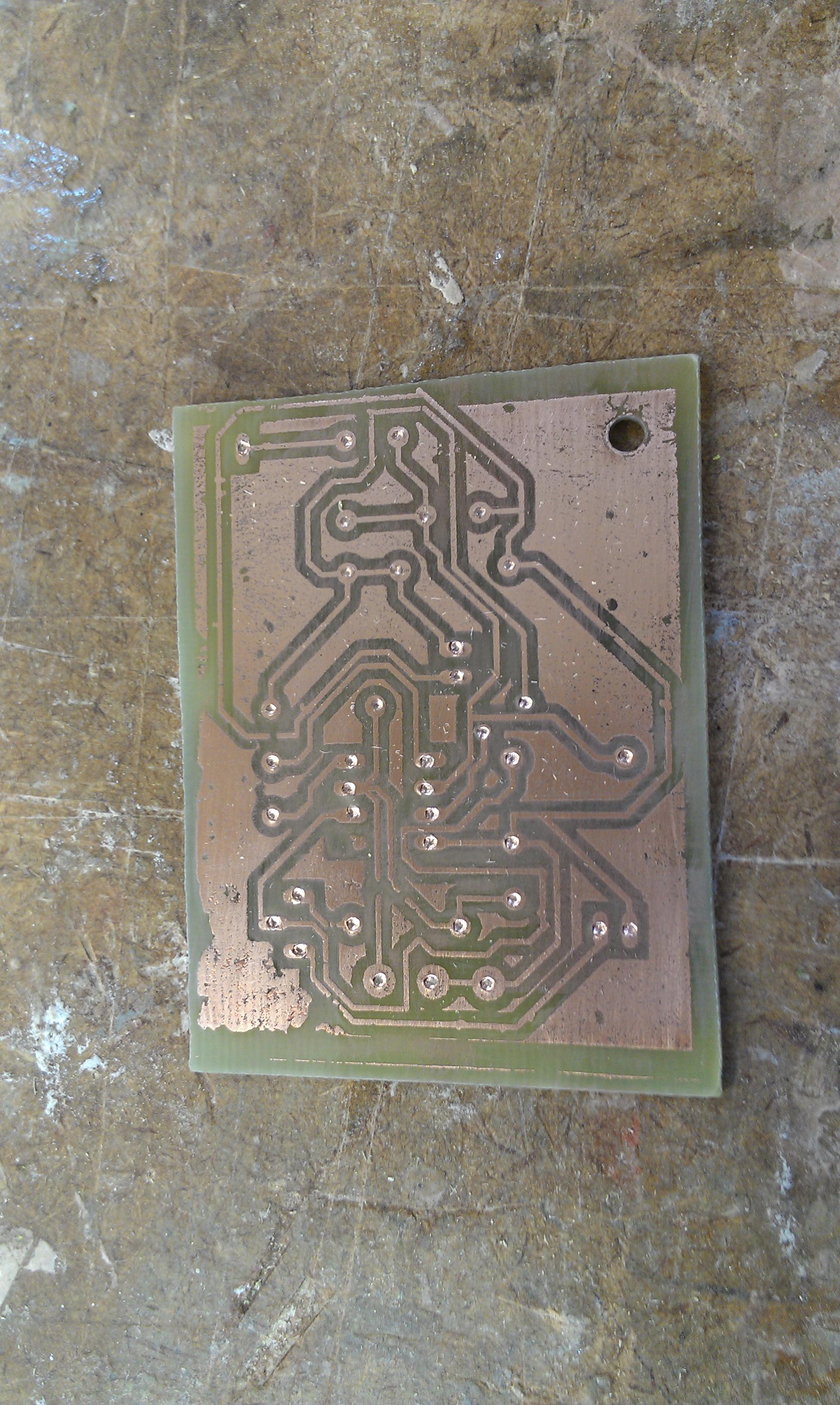 Acid Etching Printed Circuit Boards