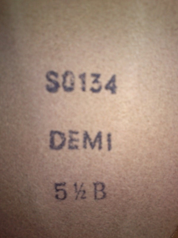 All the Facts: Demi Pointe Shoes