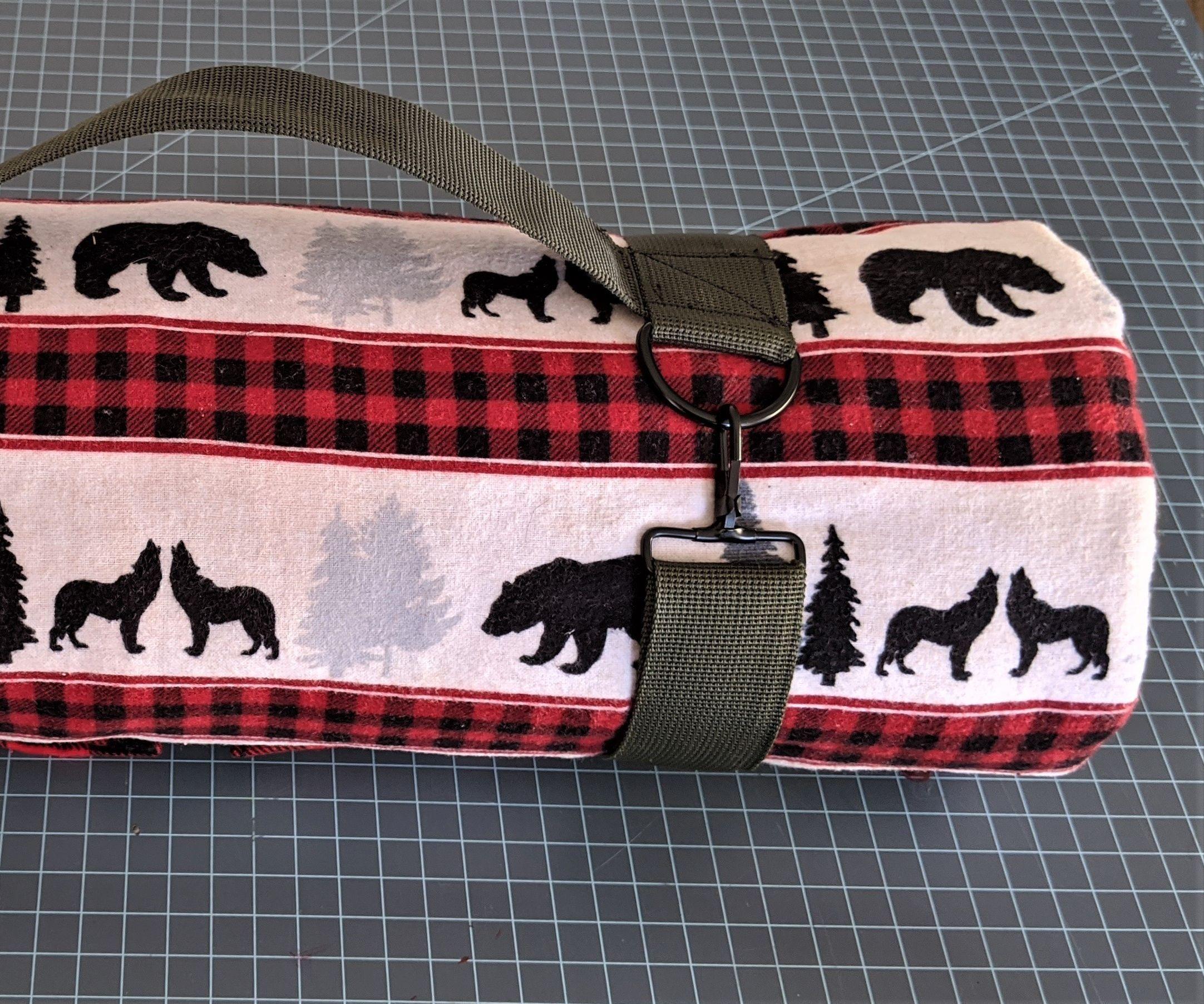 Lightweight Flannel Sleeping Bag (Machine Washable!)